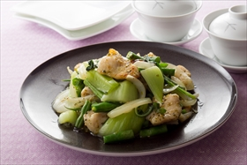 Shio-koji Chicken Vegetable Stir-Fry