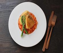 白身魚のフライ~簡単トマトソースで~