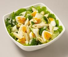 卵とペンネの減塩塩こうじサラダ