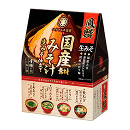 鳳麟(ほうりん)国産素材みそ汁 4食