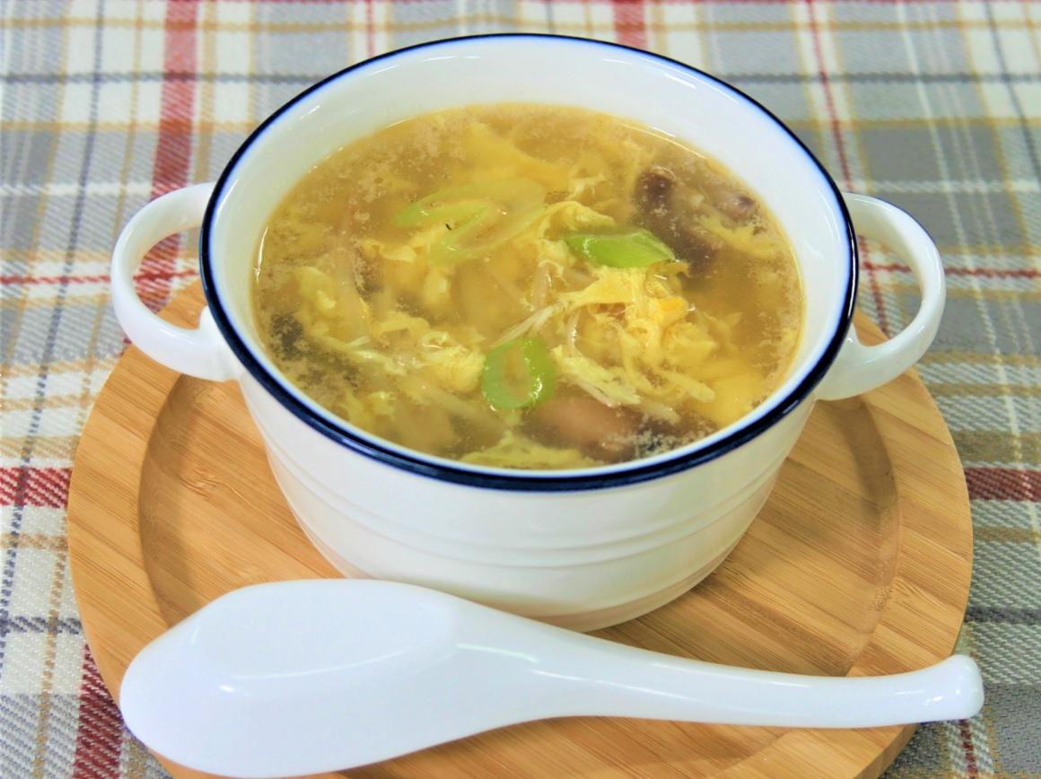 【動画あり】鶏むね肉の中華風スープ