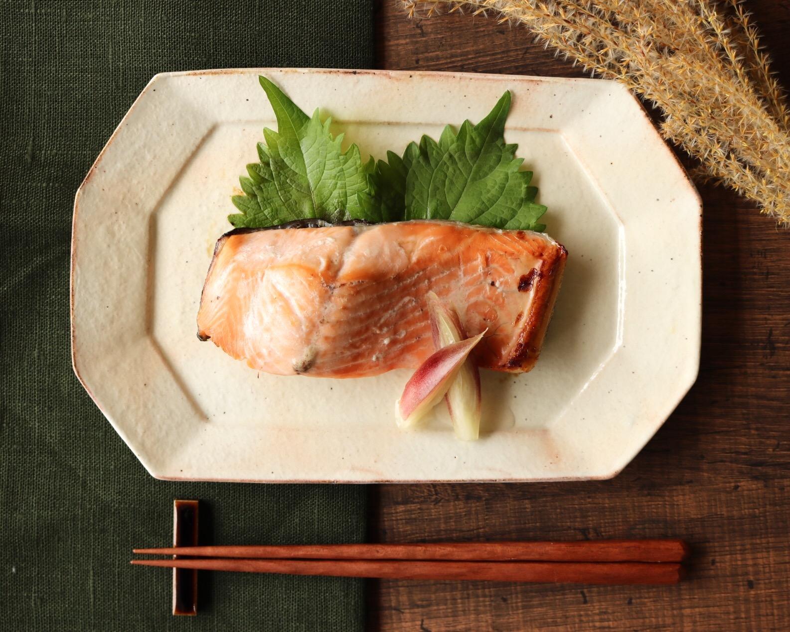 鮭の塩こうじ漬け焼き