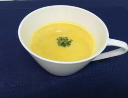 簡単!液体塩こうじでかぼちゃの冷製スープ
