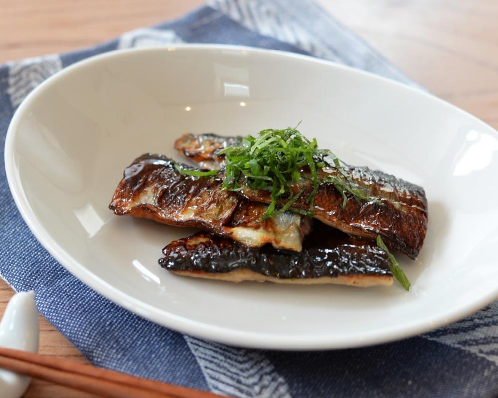 液体塩こうじで秋刀魚の蒲焼き♪