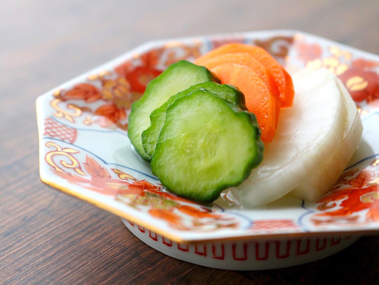 野菜の塩こうじ浅漬け