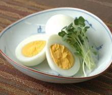 塩こうじ漬けのゆで卵