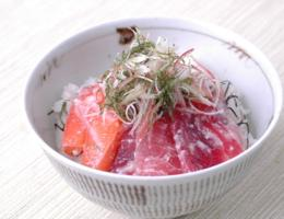 お好みの刺身と塩こうじだけでできる 簡単!塩こうじ海鮮丼
