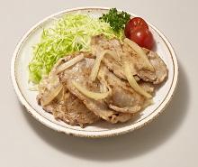 豚肉の減塩塩こうじ生姜焼き