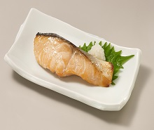 鮭の減塩塩こうじ漬け焼き