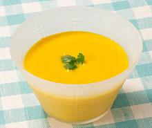 かぼちゃの塩こうじ冷製スープ