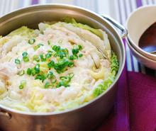 豚肉の旨み広がる☆白菜と豚肉の塩こうじ蒸し煮