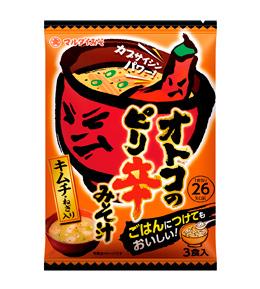 マルダイオトコのピリ辛みそ汁キムチ 3食