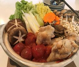 味付けは液体塩こうじのみ☆トマト鍋