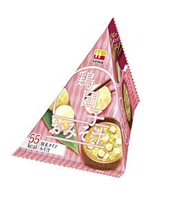 三角パックごちそう具材  鶏団子のおみそ汁
